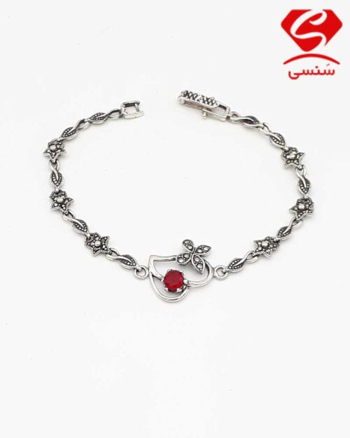 خرید دستبند نقره دخترانه