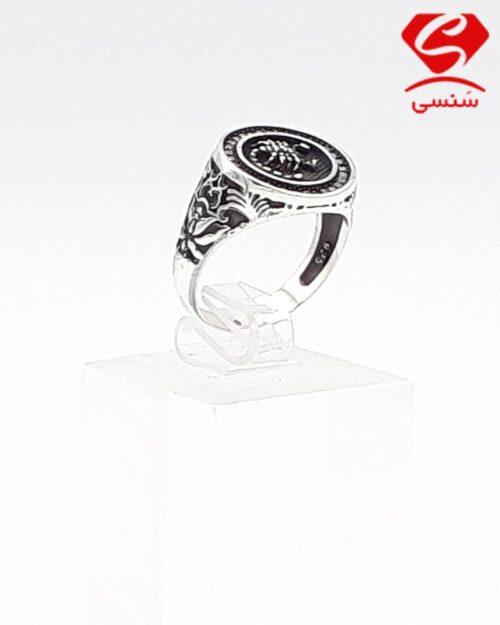 انگشتر نقره مدل عقرب