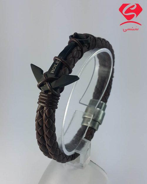 20 12 32 500x625 - دستبند چرم و استیل لنگر