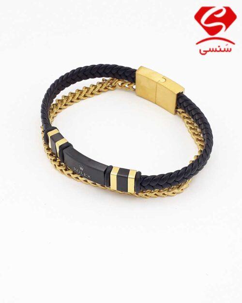 6 500x625 - دستبند استیل کد05