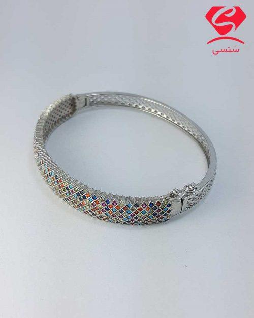 farvardin2 27 500x625 - دستبند نقره پرنسی