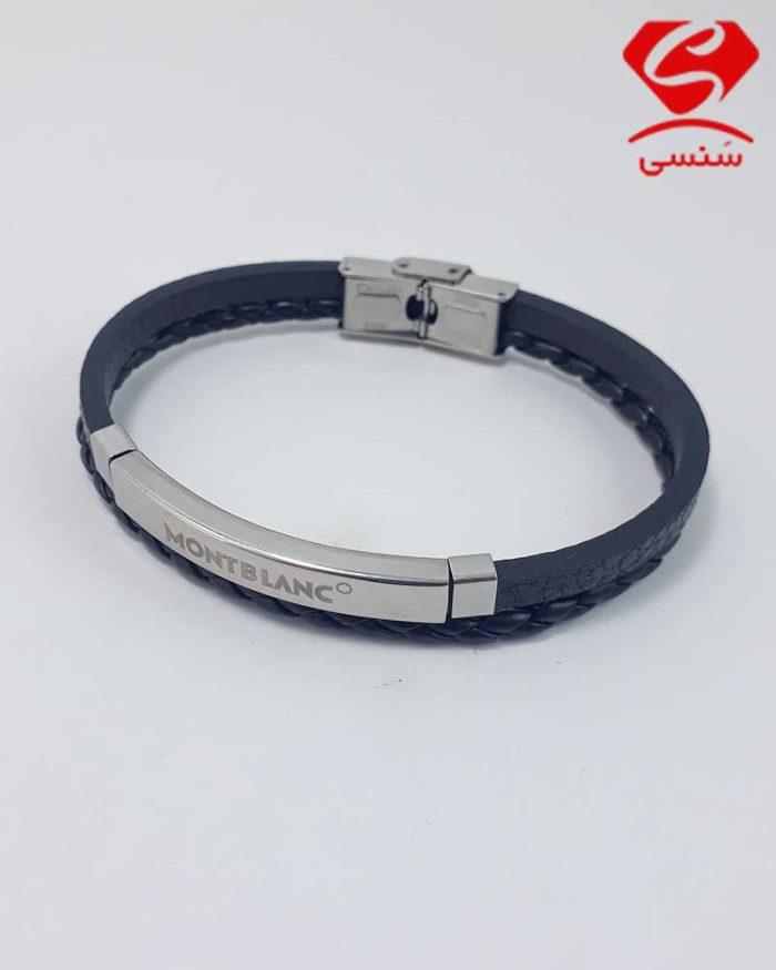 02 700x875 - دستبند چرم و استیل کد019