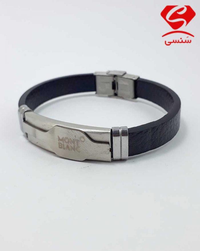 04 700x875 - دستبند چرم و استیل کد022