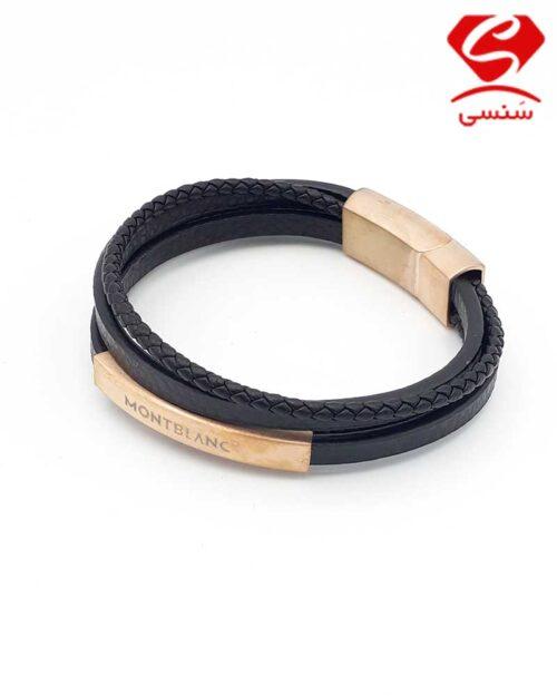 32 500x625 - دستبند چرم و استیل کد010