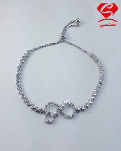 دستبند نقره دخترانه و زنانه