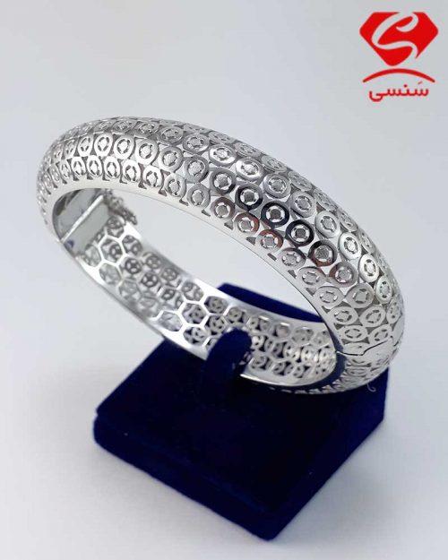 دستبند نقره زنانه ایتالیایی