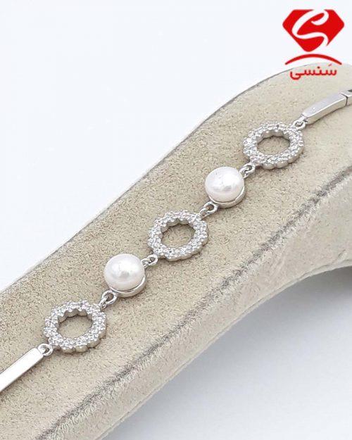 q07 500x625 - دستبند نقره مروارید