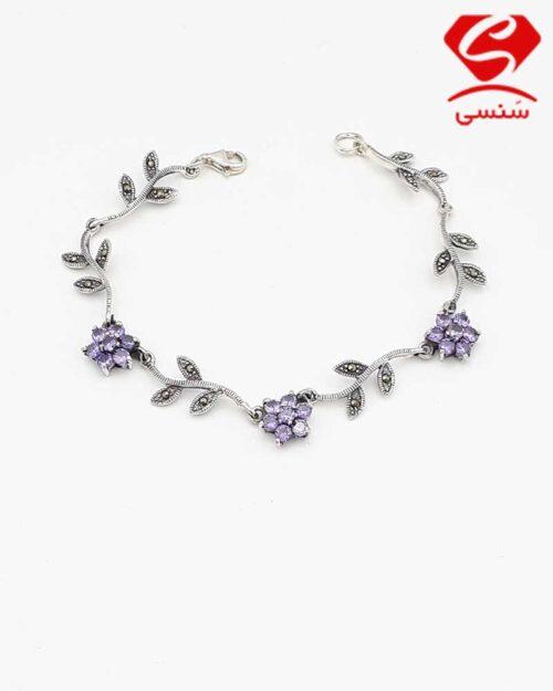 دستبند نقره با قیمت