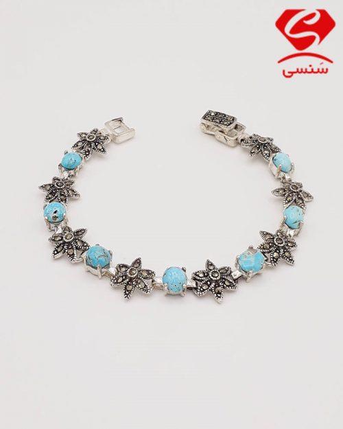 d010 500x625 - دستبند فیروزه زنانه