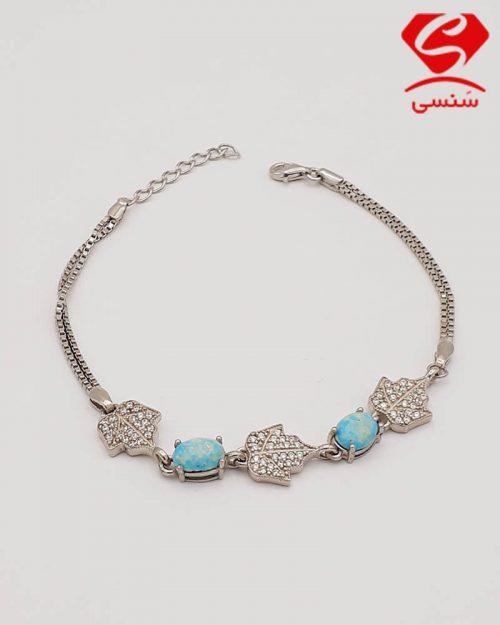 d012 500x625 - دستبند فیروزه ظریف