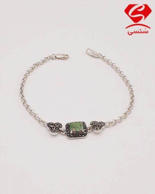 d06 500x625 - دستبند فیروزه دخترانه