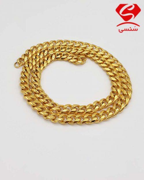 z01 1 500x625 - زنجیر استیل طلایی