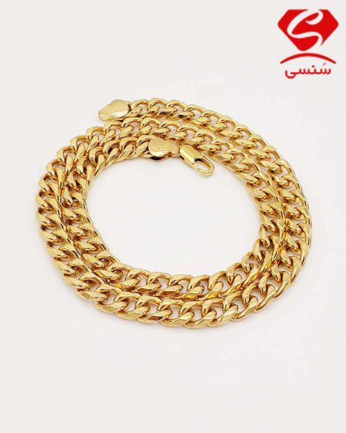 z04 1 500x625 - گردنبند استیل طلایی