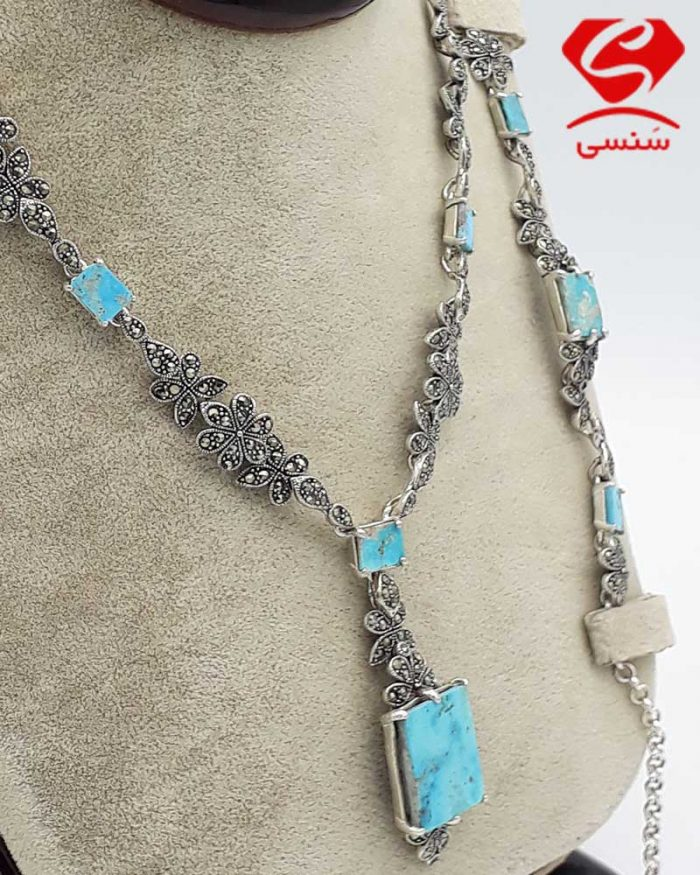 s9 700x875 - گردنبند و دستبند فیروزه