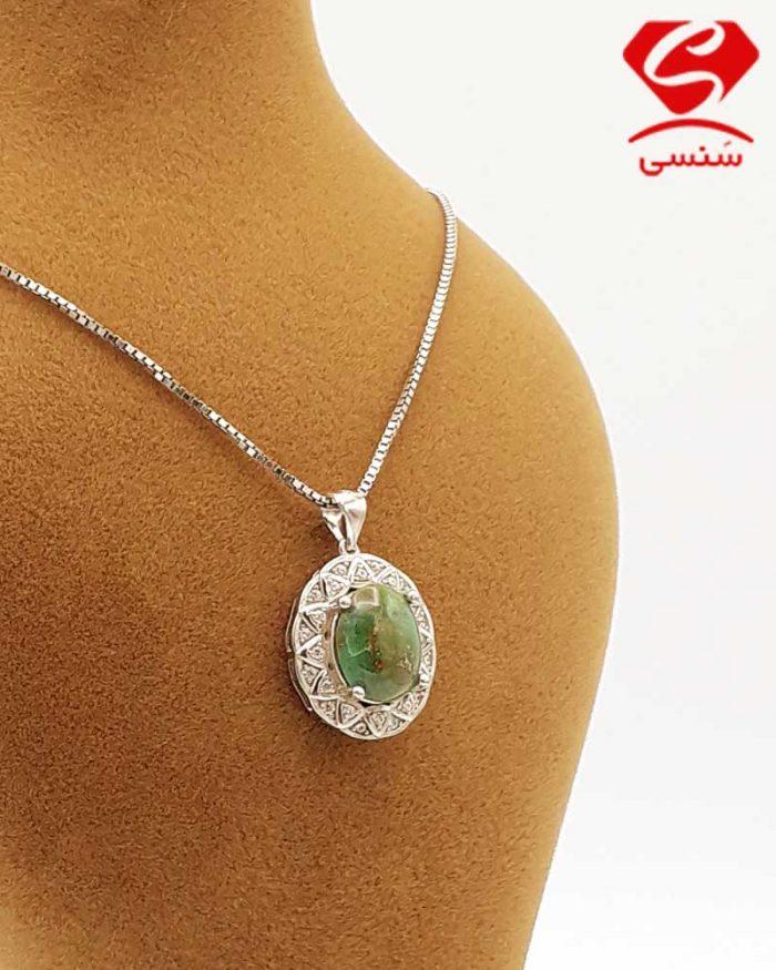 012 700x875 - گردنبند فیروزه مدل جواهر