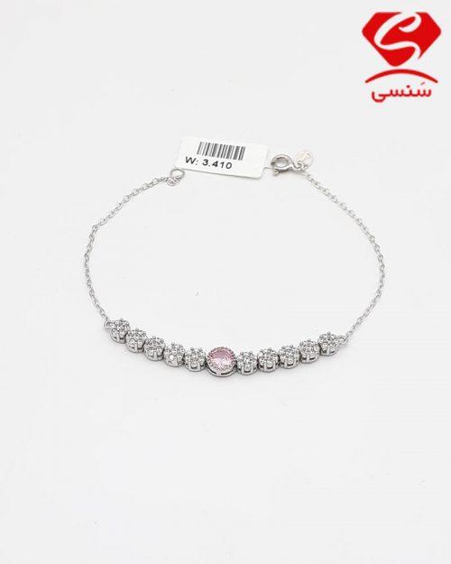 30 500x625 - دستبند ظریف فلاور