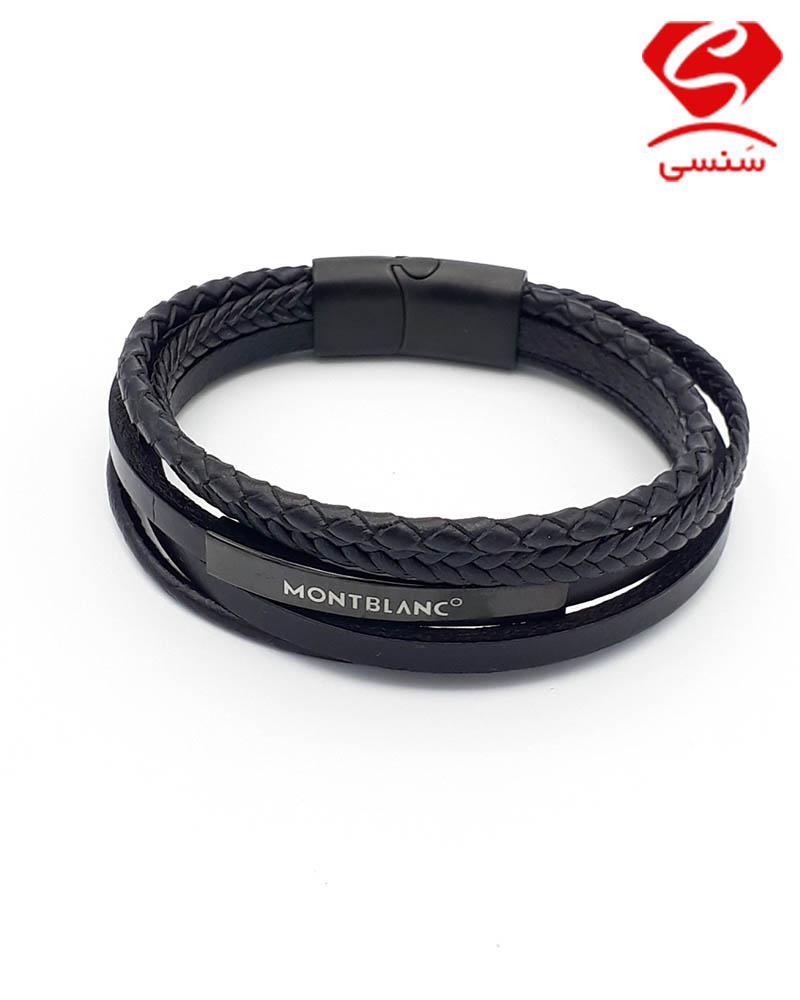 دستبند چرم مونت بلانک