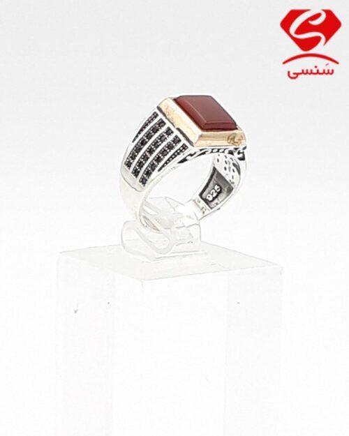 انگشتر نقره مردانه قیمت مناسب