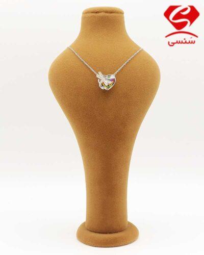 گردنبند سواروسکی مدل قلب