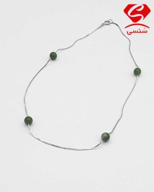 31 500x625 - گردنبند نقره عقیق سبز