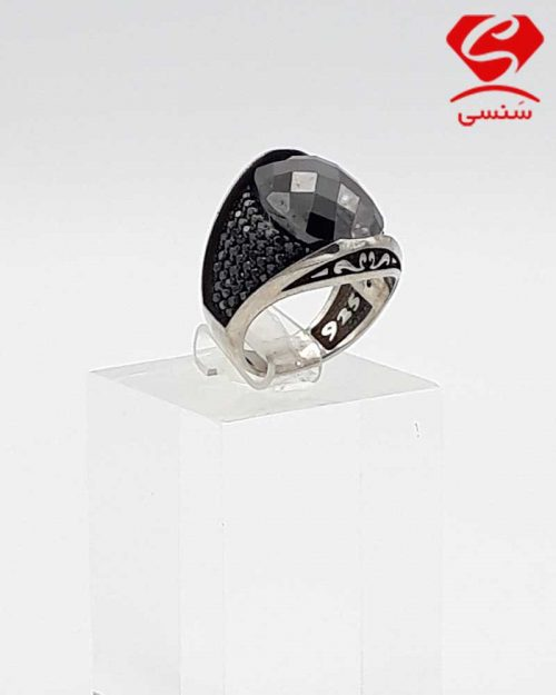 انگشتر نقره اصل مردانه