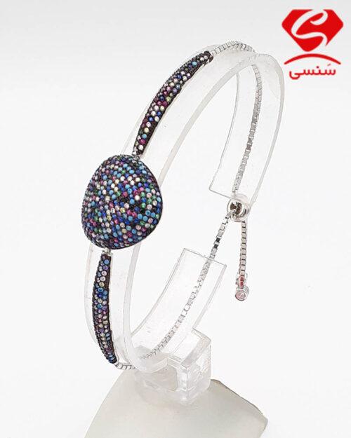 دستبند نقره زنانه و مردانه
