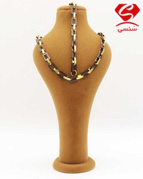 گردنبند و دستبند استیل
